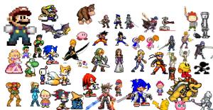 Super Smash Flash 2 characters